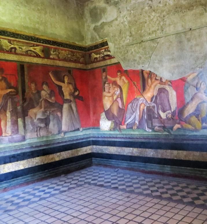 Pompei, la Villa des Mystères ©Michel Saüquere