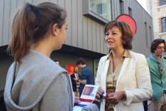 """Carole Delga, Présidente de la région Occitanie à """"Théo"""" ©Hervé Cazcarra"""