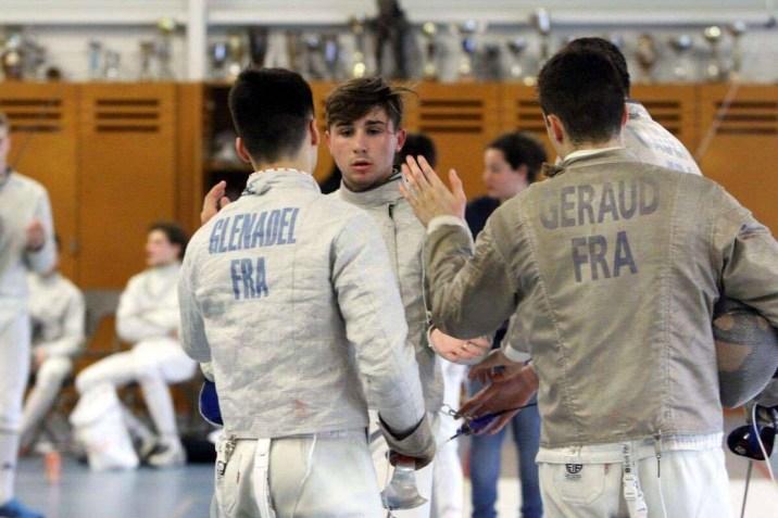 Sabre d'or 2017 - Equipe Tarbes 1 ©Jules Géraud