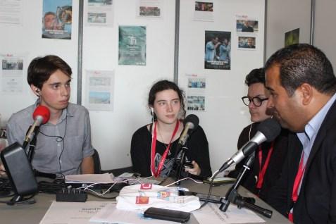 Interview de Kamel Chibli ©Herve Cazcarra