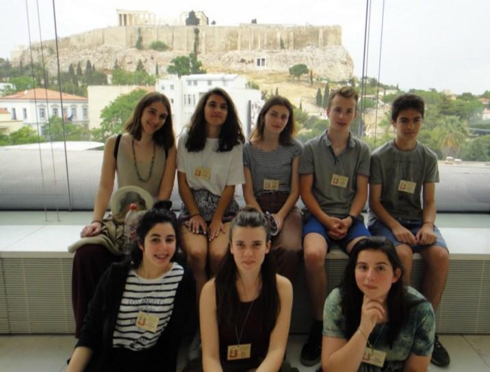 Grèce Erasmus + © Rania Moubarik Tnifass
