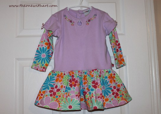 dress from to small onesies 12