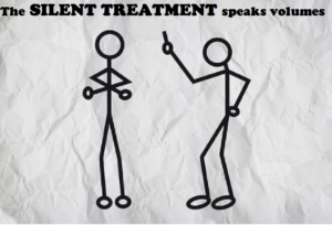 silent treatment speaks
