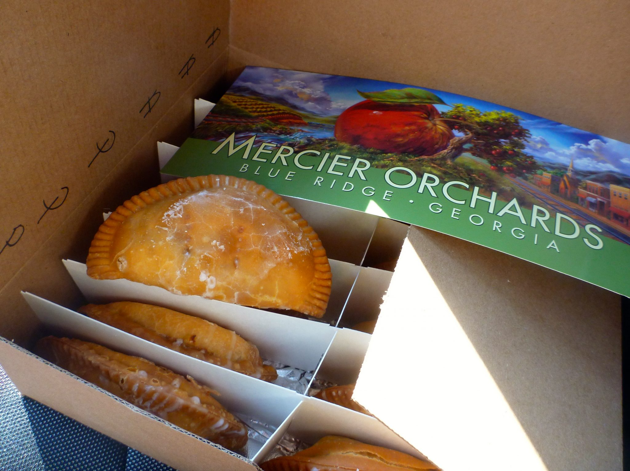 Mercier Orchards fried pie