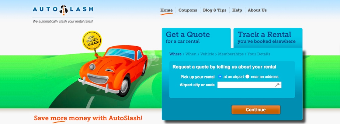 AutoSlash review, an app to use to save money on car rentals
