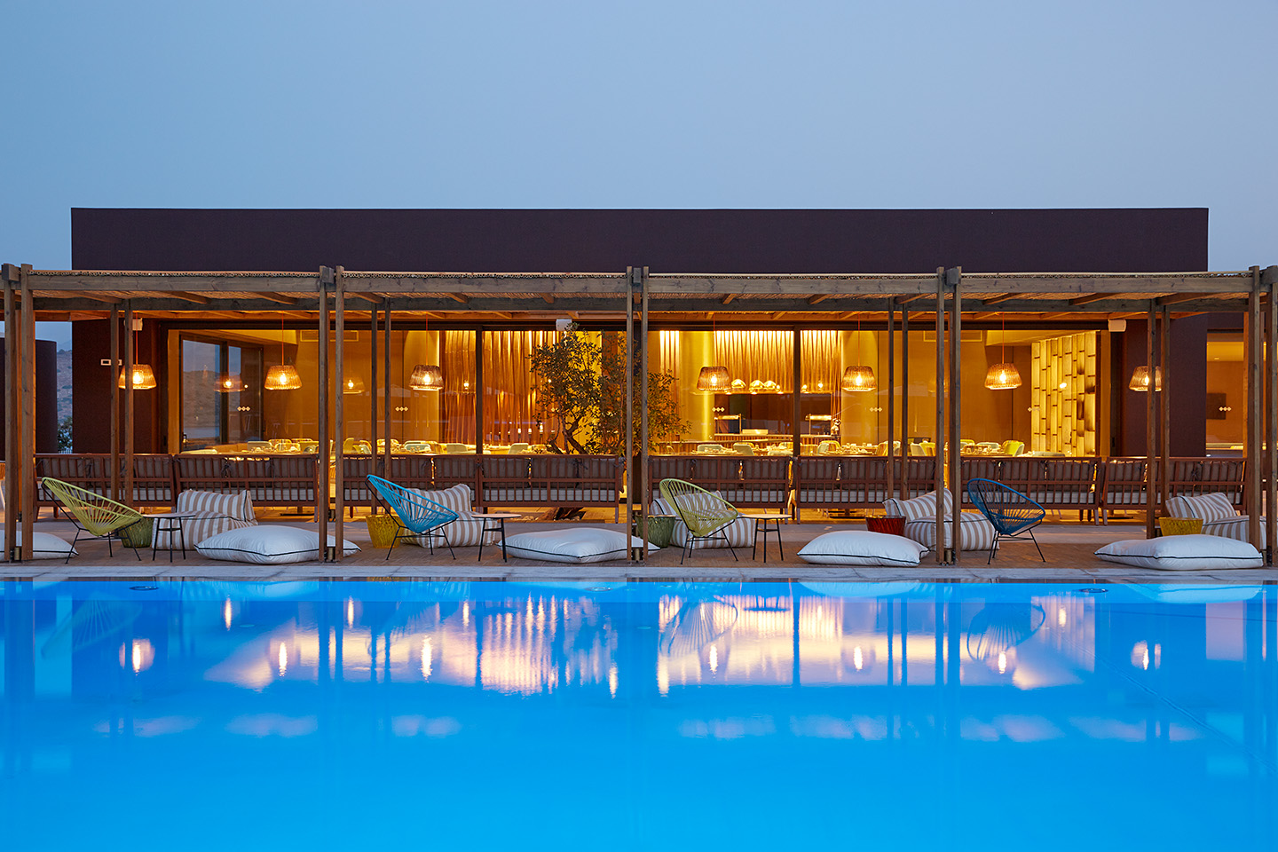 Marriott Autograph Collection hotels, like the Domes of Elounda in Greece, are included brands in the Marriott Bonvoy Travel Rewards Program.
