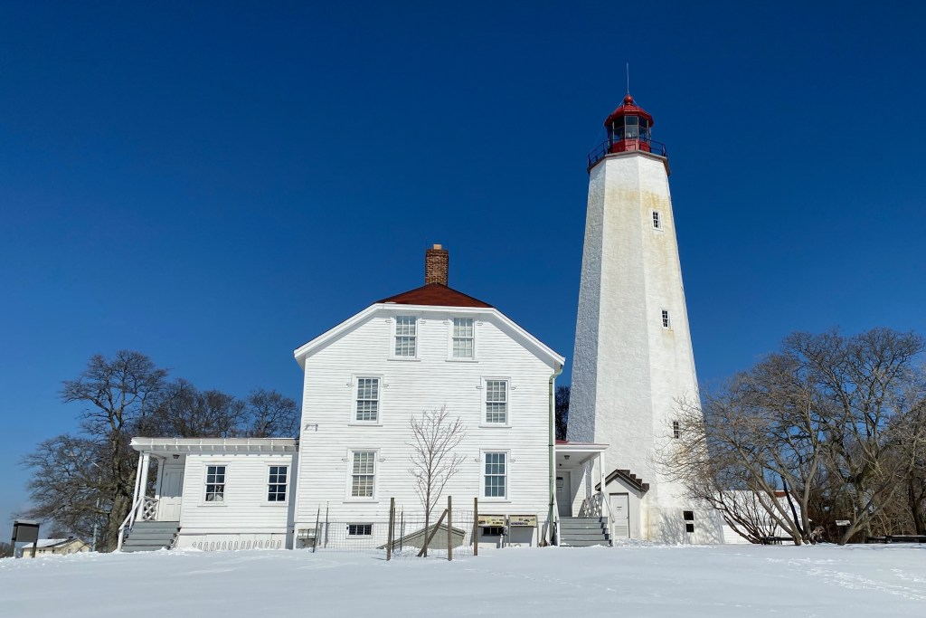 Sandy Hook NJ lighthouse