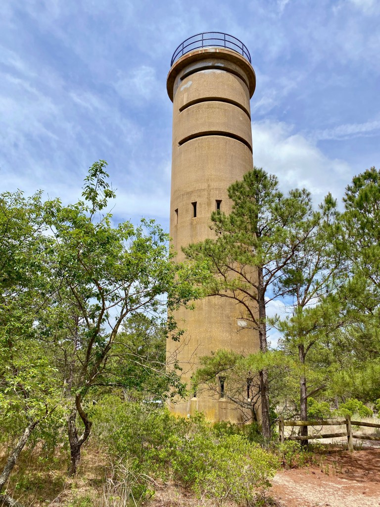 A WW II observation tower at Cape Henlopen in Delaware