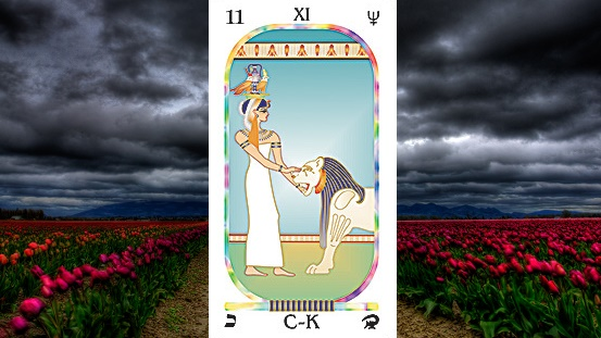 Arcanum XI. Strength (The Enchantress)