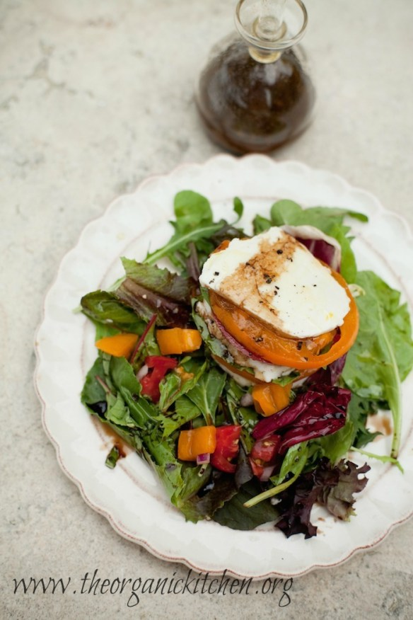Caprese Stack Salad from The Organic Kitchen