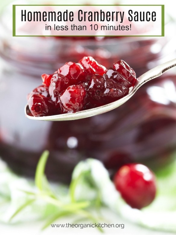 Homemade Cranberry Sauce-Two Ways! #homemadecranberrysauce #Homemadeorgangecranberrysauce
