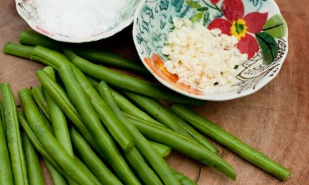 Blanched Green Beans
