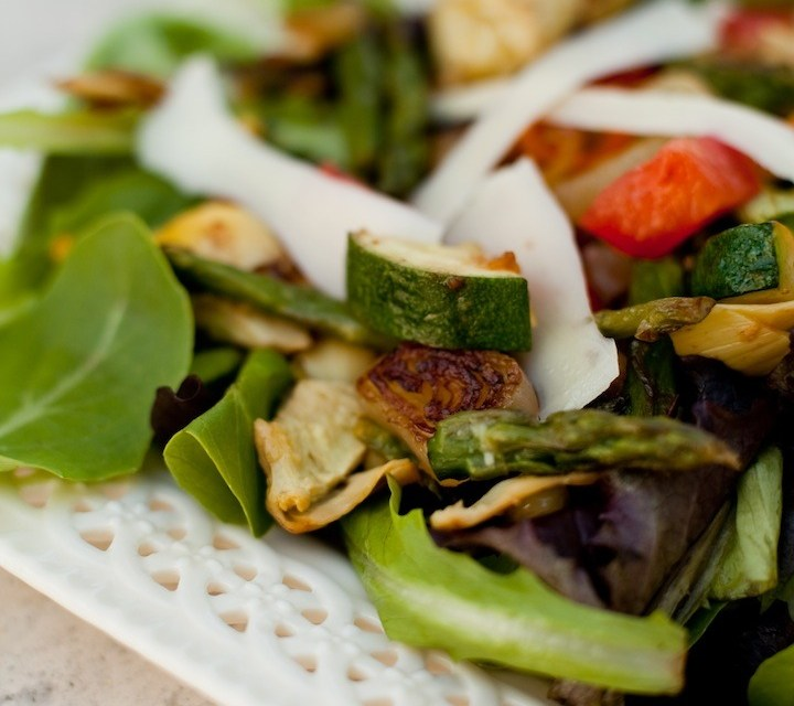 The Organic Kitchen Grilled Veggie Salad