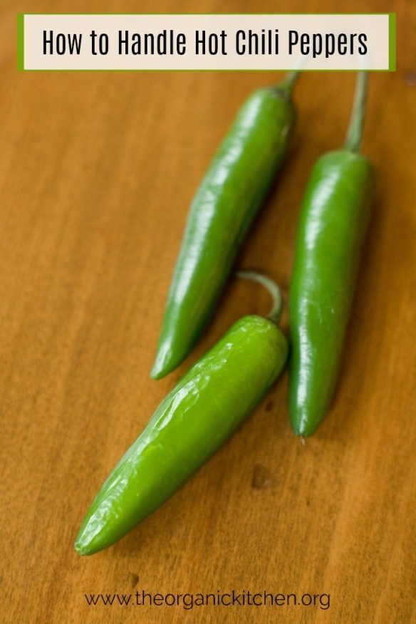 How to Handle a Hot Chili Pepper! #chilipeppers #safetytips #chilis #jalapenopeppers #serranochilis