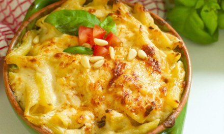 Baked Penne Rigate with a Little Kick!