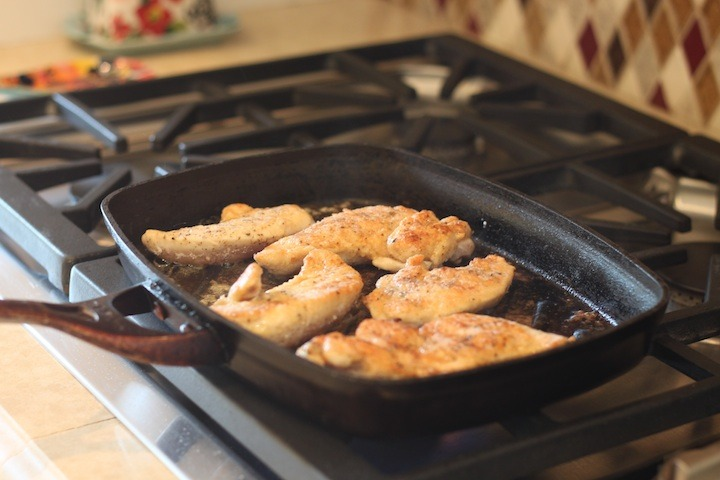 Easy Chicken Tenders from The Organic Kitchen