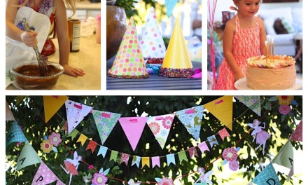 "Recipes for a ""Junk Food Free"" Birthday Party for Kids!"