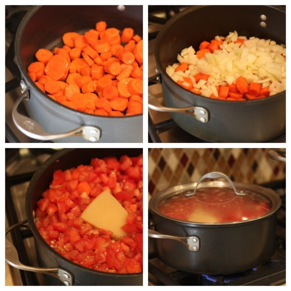 Creamy Carrot and Tomato Soup from The Organic Kitchen
