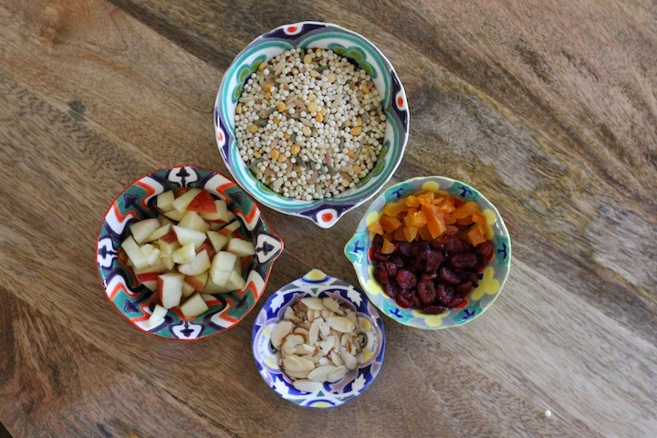 Fall Couscous Salad with Apples