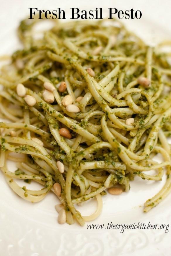 How to Make Fresh Basil Pesto!