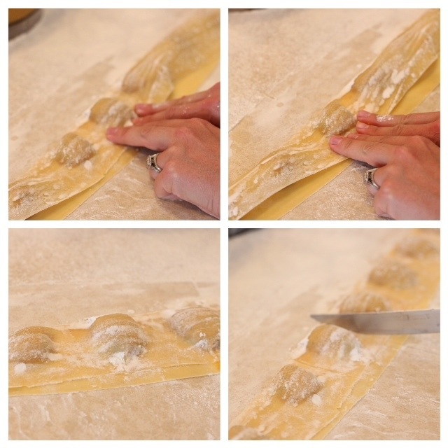 Homemade Butternut Squash Ravioli from The Organic Kitchen