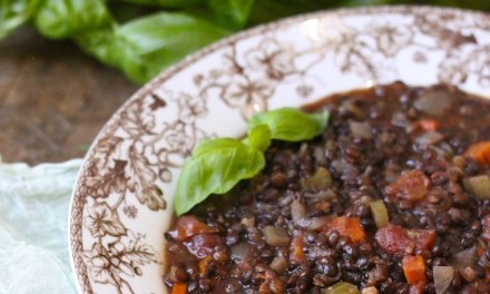 Hearty Lentil Soup!