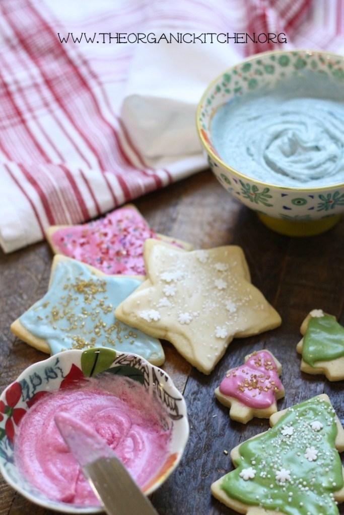 Traditonal Sugar Cookies The Organic Kitchen Blog And