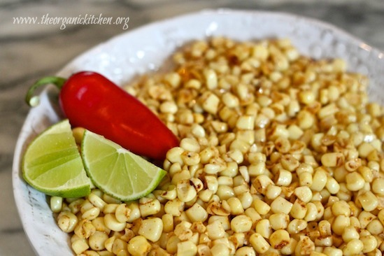 Lime Chipotle Corn Off the Cob