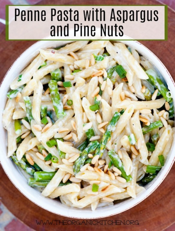 Penne Pasta with Asparagus and Pine Nuts~ Italy Part 5: Venice