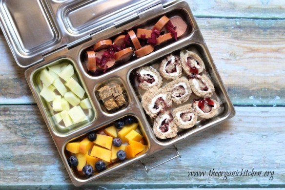 Yummy packed lunch ideas for when you're stumped on what to send your kiddo to school with. School lunch time can be both nourishing and quick prep with these great packable lunch ideas! They even work well for the Pre-K crowd!
