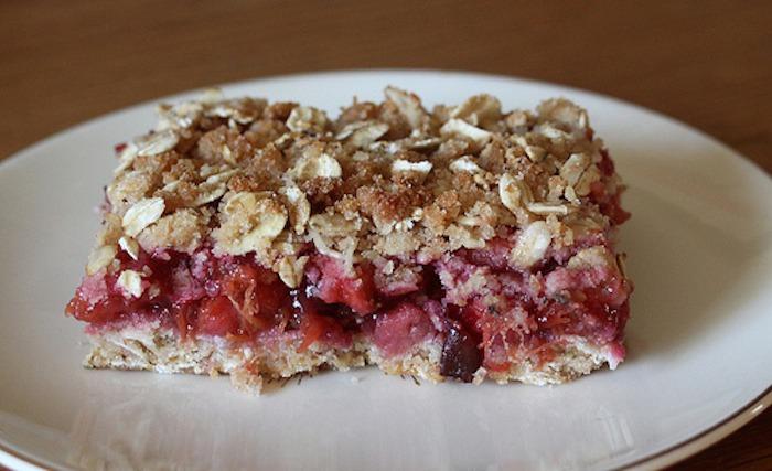 stone fruit round up-breakfast bars