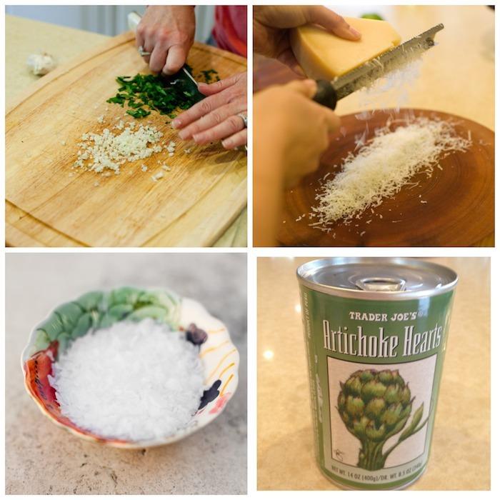 Artichoke Heart Parmesan Dipping Oil