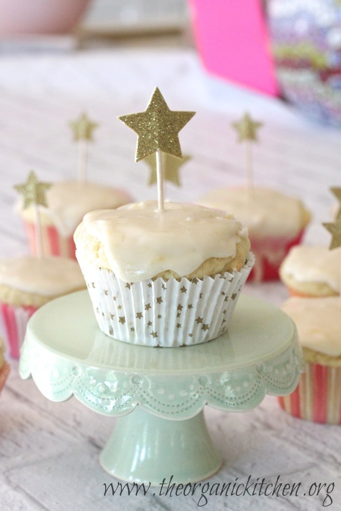 The Best Lemon Cupcakes from The Organic Kitchen
