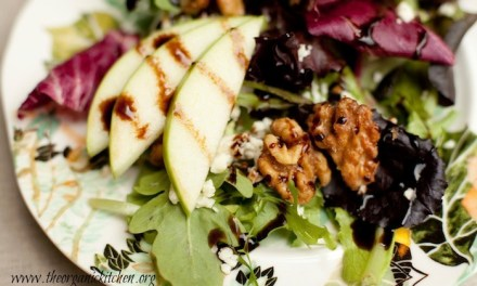 The Organic Kitchen 'House Salad' ~ The Salad that Goes Well with Any Main Course!