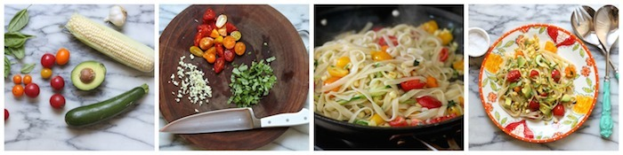 Vegetable Fettuccine From The Organic Kitchen