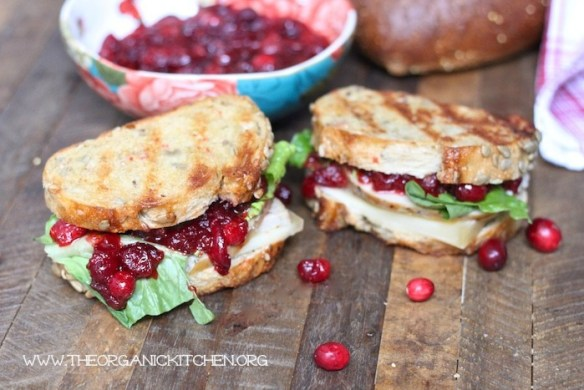The leftover Turkey and Cranberry Sauce Sauce Sandwich!