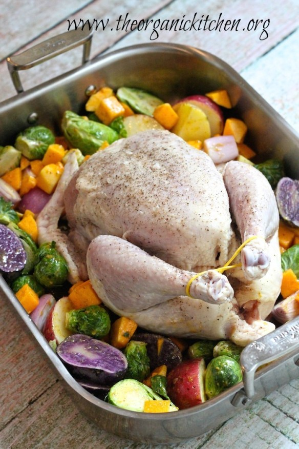 Maple Roast Chicken with Vegetables