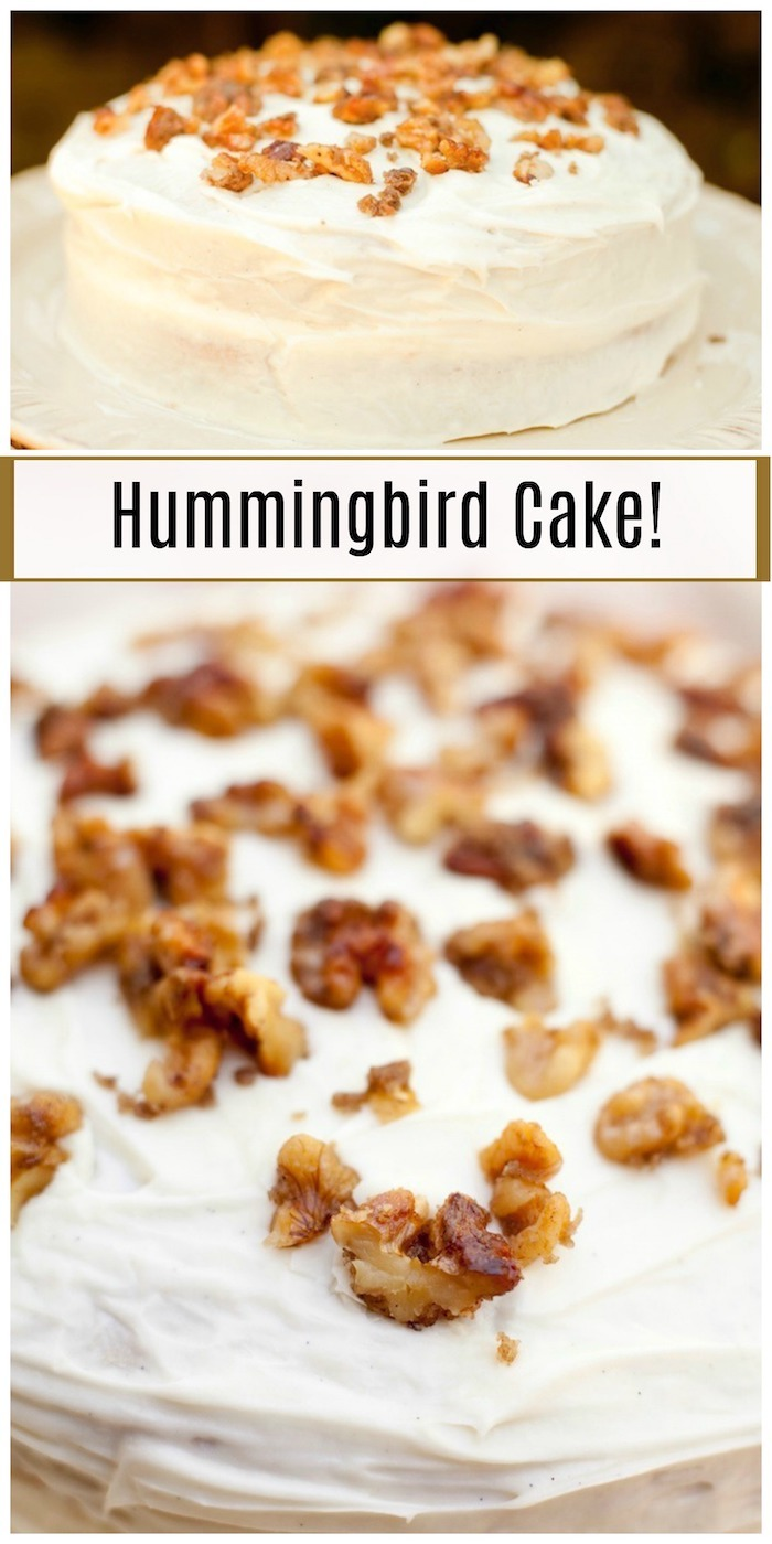 Hummingbird Cake (with gluten free option)