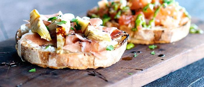 Artichoke Heart Crostini ~Settebello Pizzeria Napoletana