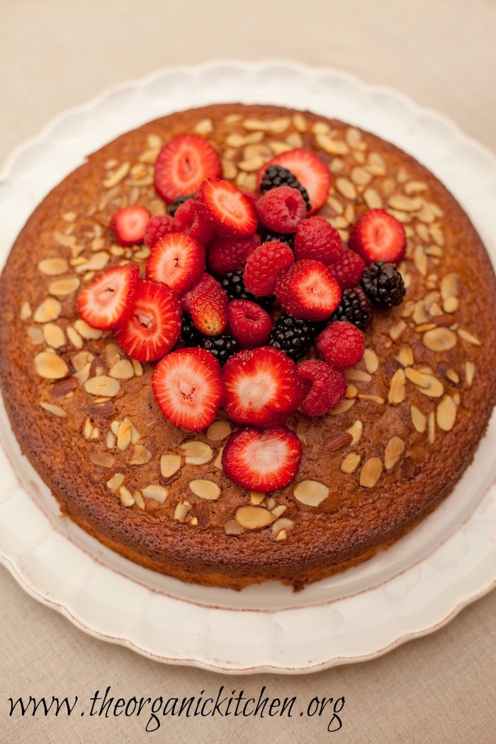 Traditional Olive Oil Cake from The Organic Kitchen