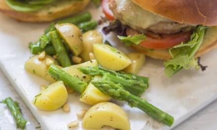 Simple Potato and Asparagus Salad