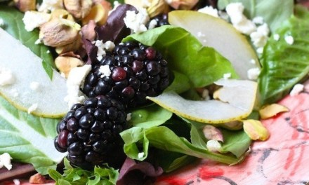 Pear and Blackberry Salad