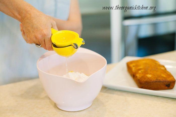 Lemon Vanilla Raspberry Pound Cake
