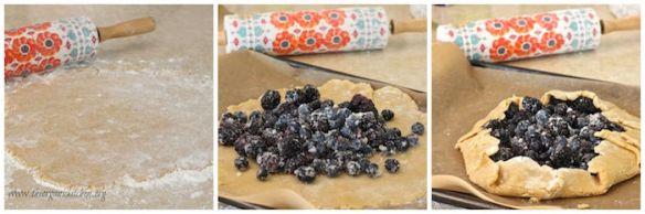 Blackberry Walnut Galette (Gluten Free Option)