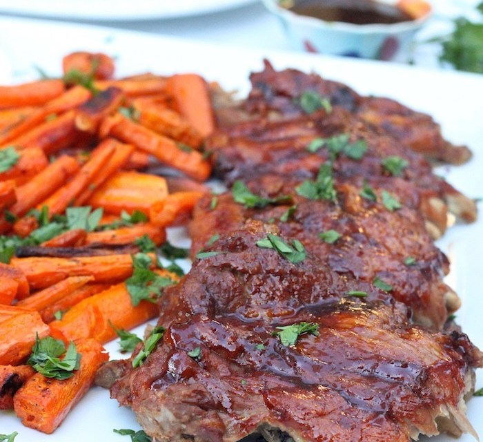 """""""BBQ"""" Baby Back Ribs (Instant Pot)"""