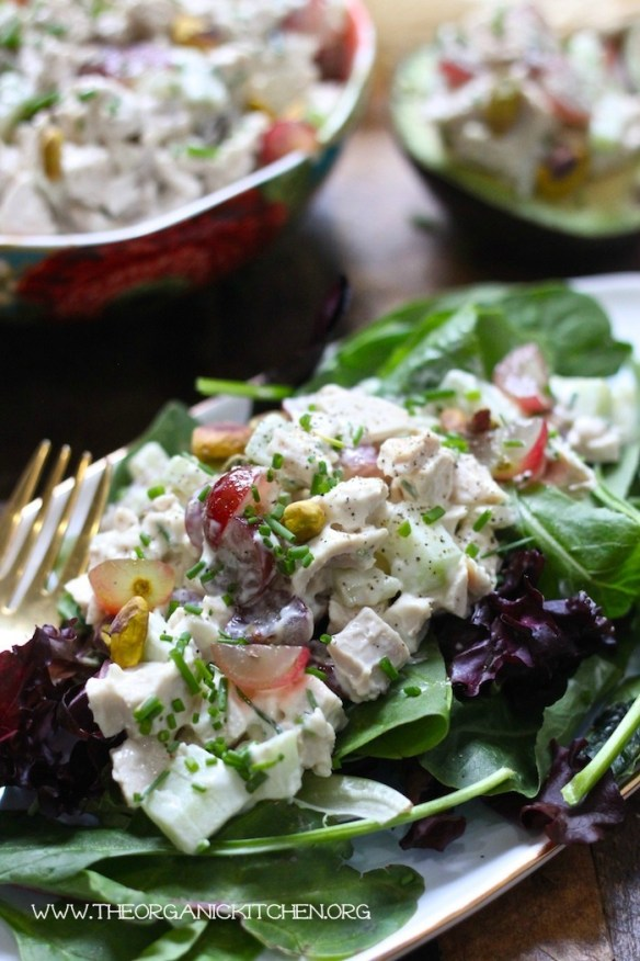 The Best Homemade Chicken Salad! #chickensalad #keto #paleo #whole30 #lowcarb