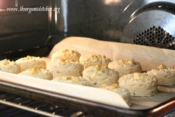 Easy  Parmesan Chive Buttermilk Biscuits