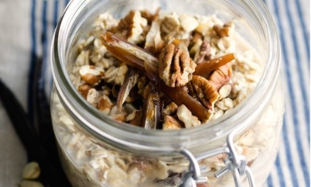Grab and Go Maple Vanilla Overnight Oats!