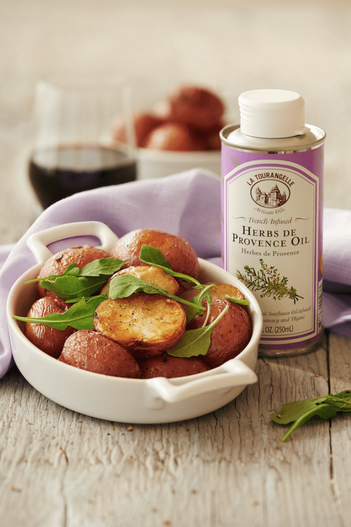 Roasted Herbs de Provence Potatoes