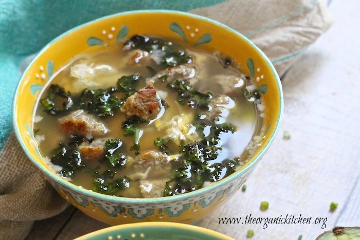 More Egg-Citing Egg Drop Soup : Paleo, Whole 30